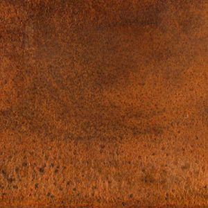 Galvanized painted corten effect