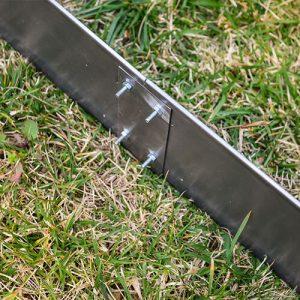 bordure giardino in acciaio inox