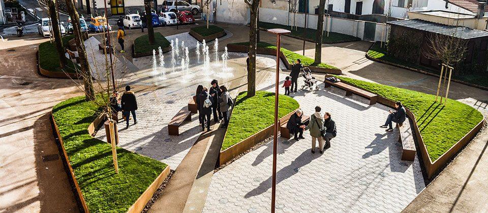 bordure aiuole Piazza Bianchini Iolo Prato